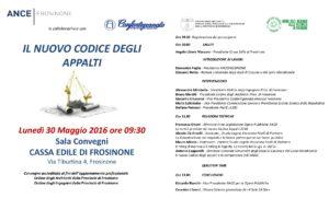 Programma Convegno AnceFrosinone Il Nuovo Codice degli Appalti 30 maggio 2016 (1)-001
